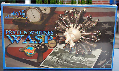 Pratt & Whitney Wasp 425 PS Sternmotor 1:8 Williams Brothers 30710