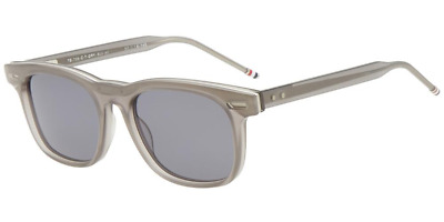 19c3d4545d10 AUTHENTIC THOM BROWNE TB-705-C-T-GRY-SLV-50 Sunglasses Silver   Grey ...