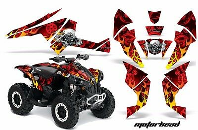 ATV Decal Graphics Kit Quad Wrap For Can-Am Renegade 500 X/R 800X/R 1000 MOTO R