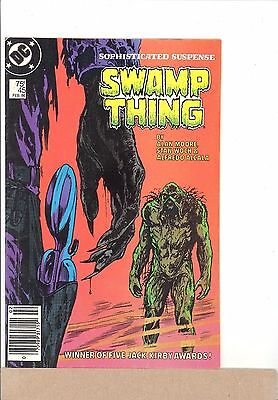 1986 DC Comics THE SAGA OF SWAMP THING #45 Alan Moore The Winchester House