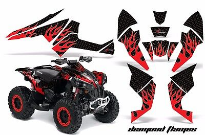 ATV Decal Graphics Kit Quad Wrap For Can-Am Renegade 500 X/R 800X/R 1000 DF R K