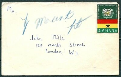 Ghana 1961 Cover, Posted To London, Nice Stamp -Cag 220218