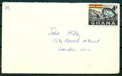 Ghana 1958? Cover, Posted To London, Nice Stamp -Cag 220218