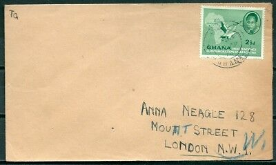Ghana 1958 Cover, Posted To London, Nice Stamp -Cag 220218