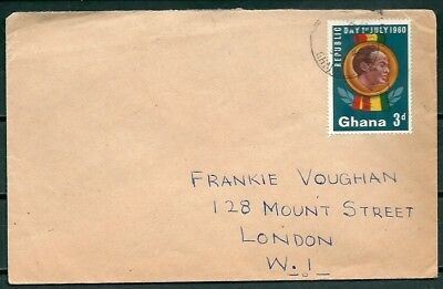 Ghana 1960 Cover, Posted To London, Nice Stamp -Cag 220218