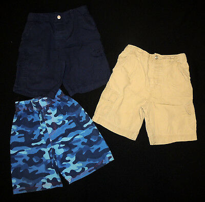 LOT of 3 Infants' Shorts Boys' Toddlers' 4 & 5 GREAT SHAPE! child's children's