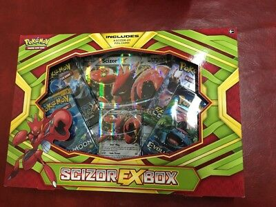 POKEMON TCG Scizor EX Box Trading Card - Brand New