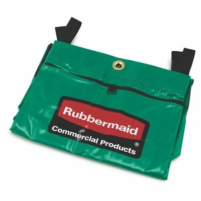 RUBBERMAID Replacement Bag,Green,Vinyl, 1966884, Green, Commercial Product, NEW