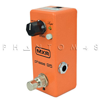 Dunlop MXR Phase 95 Guitar Effects Pedal Phaser mini pedal M290 NEW