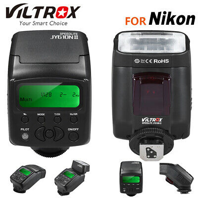 Viltrox JY-610N II i-TTL On-Camera Mini Flash Speedlite for Nikon DSLR Camera