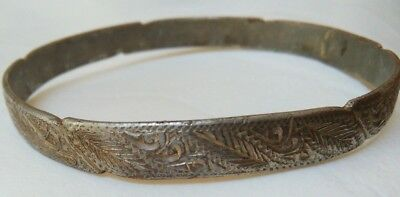 extremely ancient viking legionary bracelet metal rare type