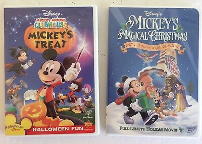 mickey mouse clubhouse mickeys treat halloween magical christmas movie dvds - Mickey Mouse Clubhouse Christmas