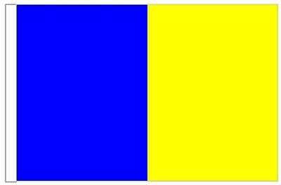 Ireland Longford County Gaelic Games Colours Courtesy Flag for Boats 45cm x 30cm