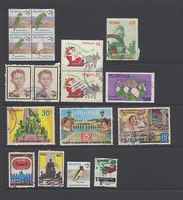 Philippines - 17 used stamps - ( Lot 183 )