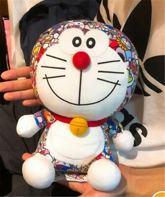 "New UNIQLO DORAEMON X Takashi Murakami 9"" Plush Doll Toy Kids Birthday Gift Doll"