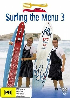 B6 BRAND NEW SEALED Surfing The Menu : Series 3 (DVD, 2006, 2-Disc Set)
