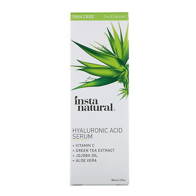 InstaNatural  Hyaluronic Acid Serum with Vitamin C  2 fl oz  60 ml