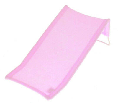 Baby Bath Pad Towelling Safety Support Seat Newborn Child Easy Bathing (Pink)