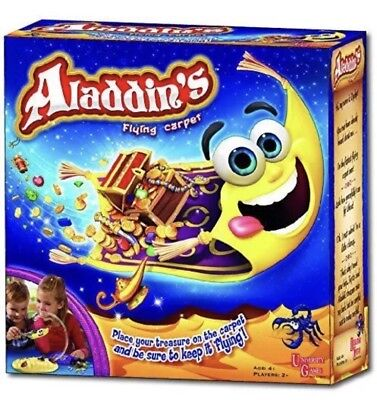 Aladdin's Flying Carpet Family Board Game. Brand New In Box