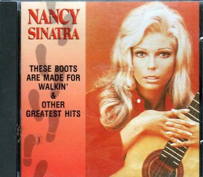 Nancy Sinatra These Boots Are Made For Walkin` & Other Greatest Hits