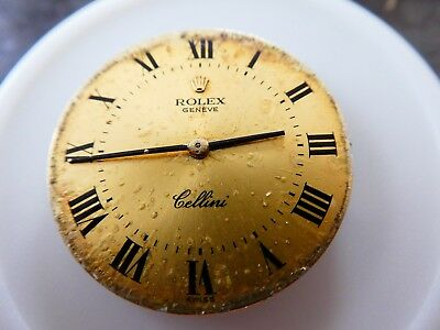 ROLEX Cellini /Manual Wind Cal.1601/ Women's Watch Movements For Parts (K3)