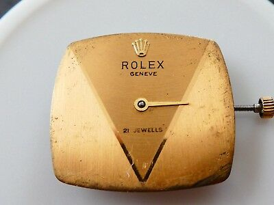 ROLEX Cellini /Manual Wind Cal.1600/ Women's Watch Movements For Parts (K4)