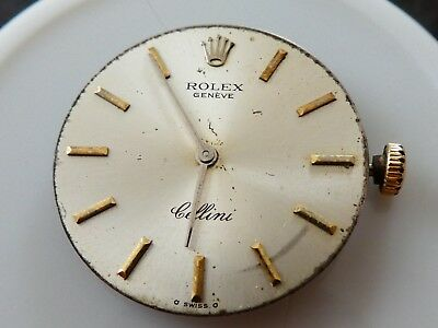 ROLEX Cellini /Manual Wind Cal.1600/ Women's Watch Movements For Parts (K5)