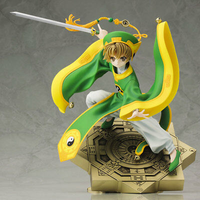 New Card Captor Sakura CCS LI SYAORAN 20CM PVC Figure Figuren in Box Gift Toys