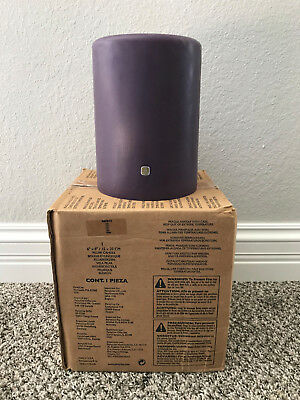"Partylite Zen Three 3-Wick Candle 6"" x 8""  Purple - NIB Brand New"