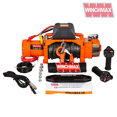 Electric Winch 12000lb Two Speed 12V Dyneema - WIRELESS FEATURE - FAST WINCH