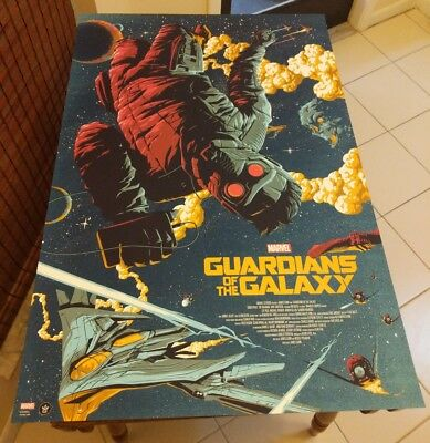 Guardians of the Galaxy by Florey Regular Poster Print Grey Matter AP 5 of 12