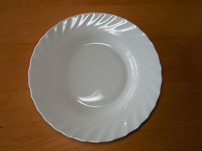 """Arcopal France TRIANON IVORY Soup Pasta Bowl Scalloped 8 7/8"""" 1 ea  7 available"""