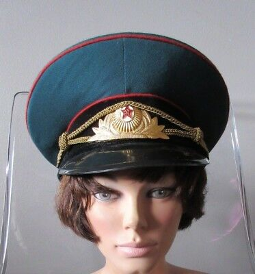 Russia/USSR Military Cap Soviet Red Star Badge Vintage