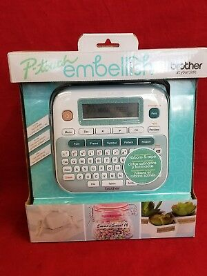 P-Touch Embellish Ribbon & Tape Printer Brand New Sealed Brother