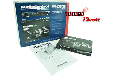 AudioControl EPICENTER InDash In-Dash Bass restoration processor with SPL  *NEW*
