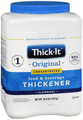Thick-It 2 Concentrated Instant Food & Beverage Thickener 36 oz Case of 6 NEW