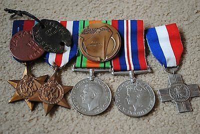WW2 named medals Sharpshooters