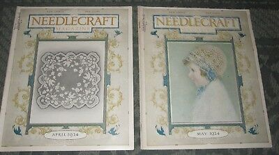 2 April 1924 And May 1924 Publications - Needlecraft