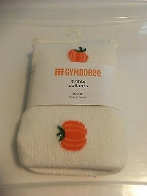 Girls Tights size 7-8 - Gymboree - Pumpkins