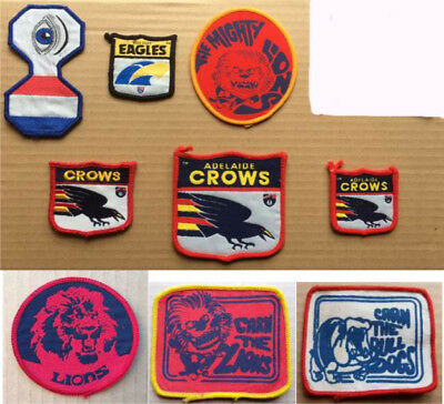 Various Club Vintage VFL/AFL Patches (New Old Stock) SOLD INDIVIDUALLY ONLY!!!!!