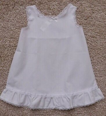 Jc Collections Girl's Size 4T White Slip