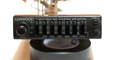 kenwood kgc-4042a graphic equalizer eq passive baby kenwood 100 % working