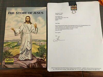 CLASSICS ILLUSTRATED SPECIAL ISSUE #129A THE STORY OF JESUS W/Final Draft, HC,NE