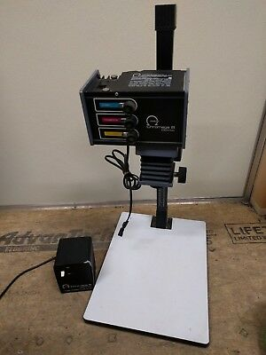 OMEGA CHROMEGA B DICHROIC B-ENLARGER W STAND & Power Supply