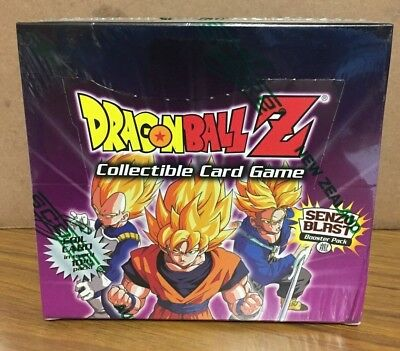 2001 Dragonball Z Senzu Blast factory sealed booster box