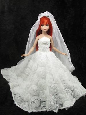 Outfit Dress Wedding Gown with veils Tonner Tyler Essential Ellowyne # 200-5