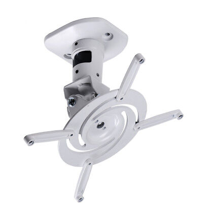 Universal Ceiling Projector Mount White