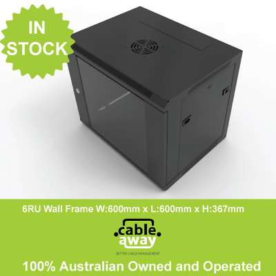6RU Wall Mount Contractor Series 600mm x 600mm Data Cabinet