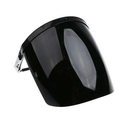 Safety Face Shield Mask Flip Up Visor Clear Protector Eye Protection Black