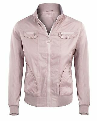super popular 66382 f9826 GIUBBOTTO DONNA CASUAL Giacca Corta con Cerniera Primaverile GIROGAMA 4370IT